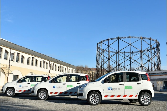 Italgas focuses on sustainable mobility and renews the entire company fleet with methane cars by Fiat Chrysler Automobiles