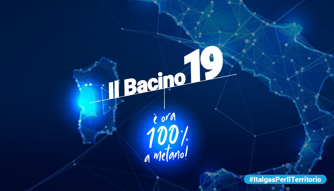 Sardegna: il Bacino 19 è il primo interamente metanizzato. In esercizio 100 chilometri di rete che servono sei comuni dell'oristanese