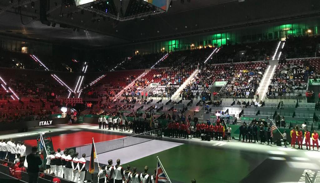 """""""Nuova"""" Coppa Davis, Italgas al fianco dell'Italia"""