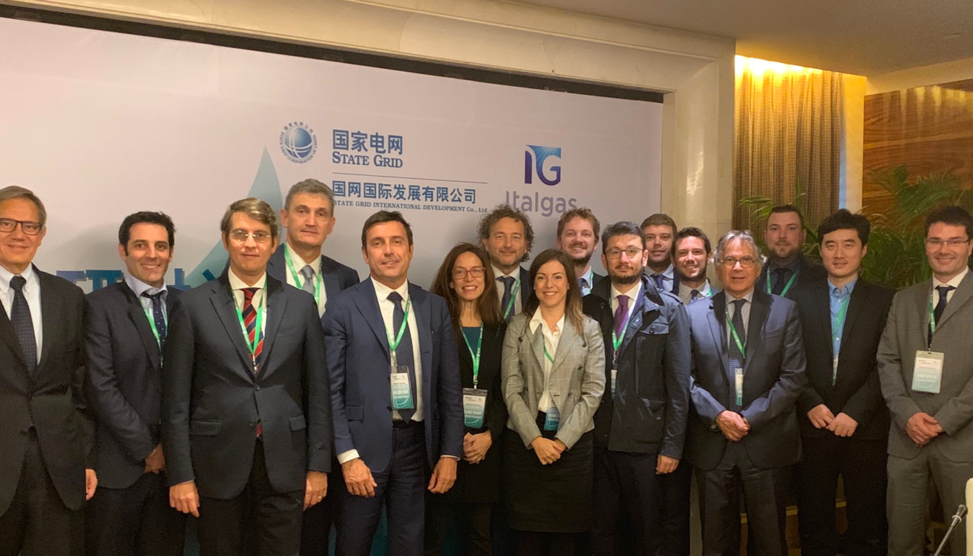 """""""China Mission"""" for Italgas: Italy's ecosystem presents itself in Beijing"""