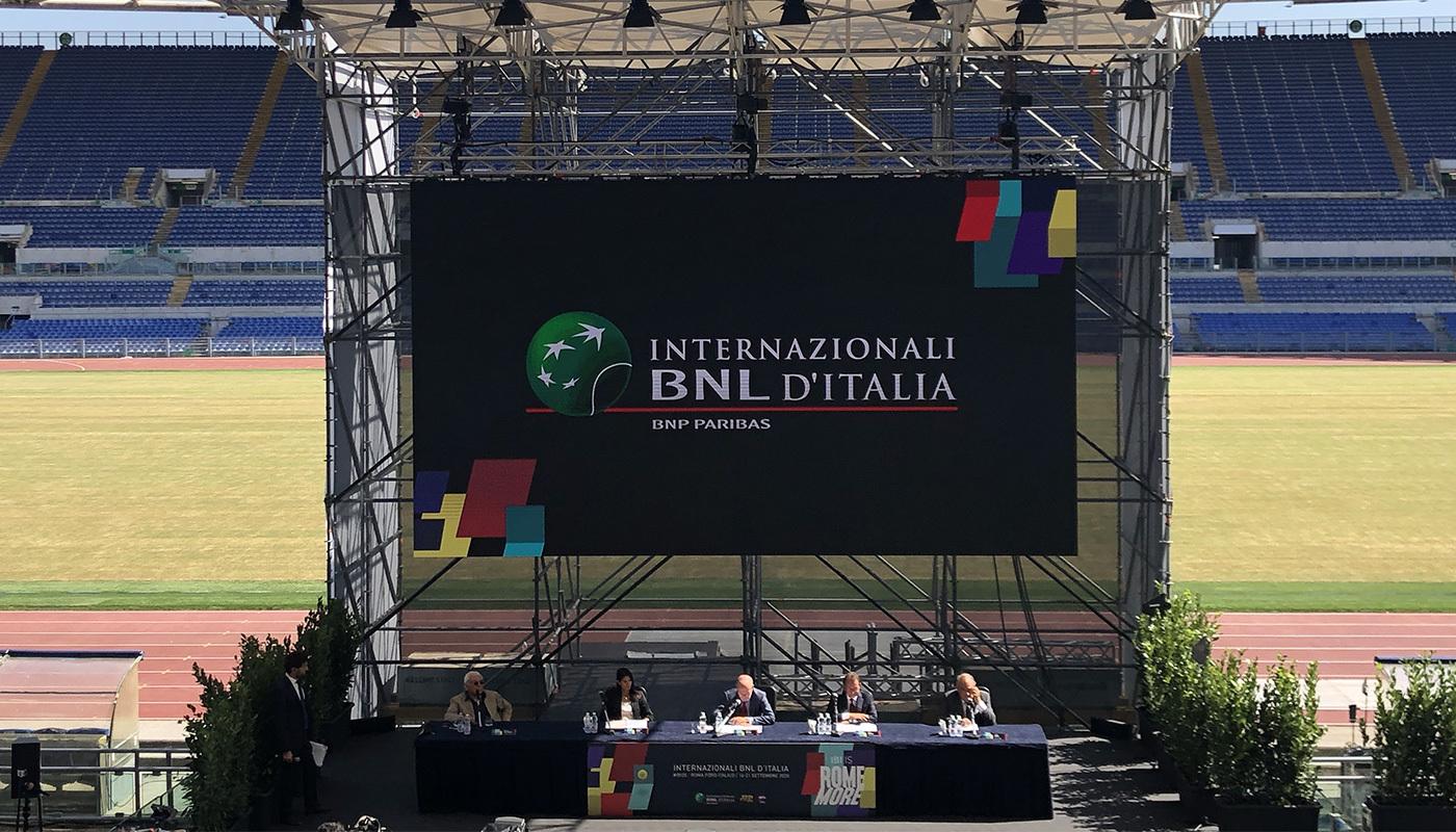 Italgas official sponsor degli Internazionali BNL d'Italia