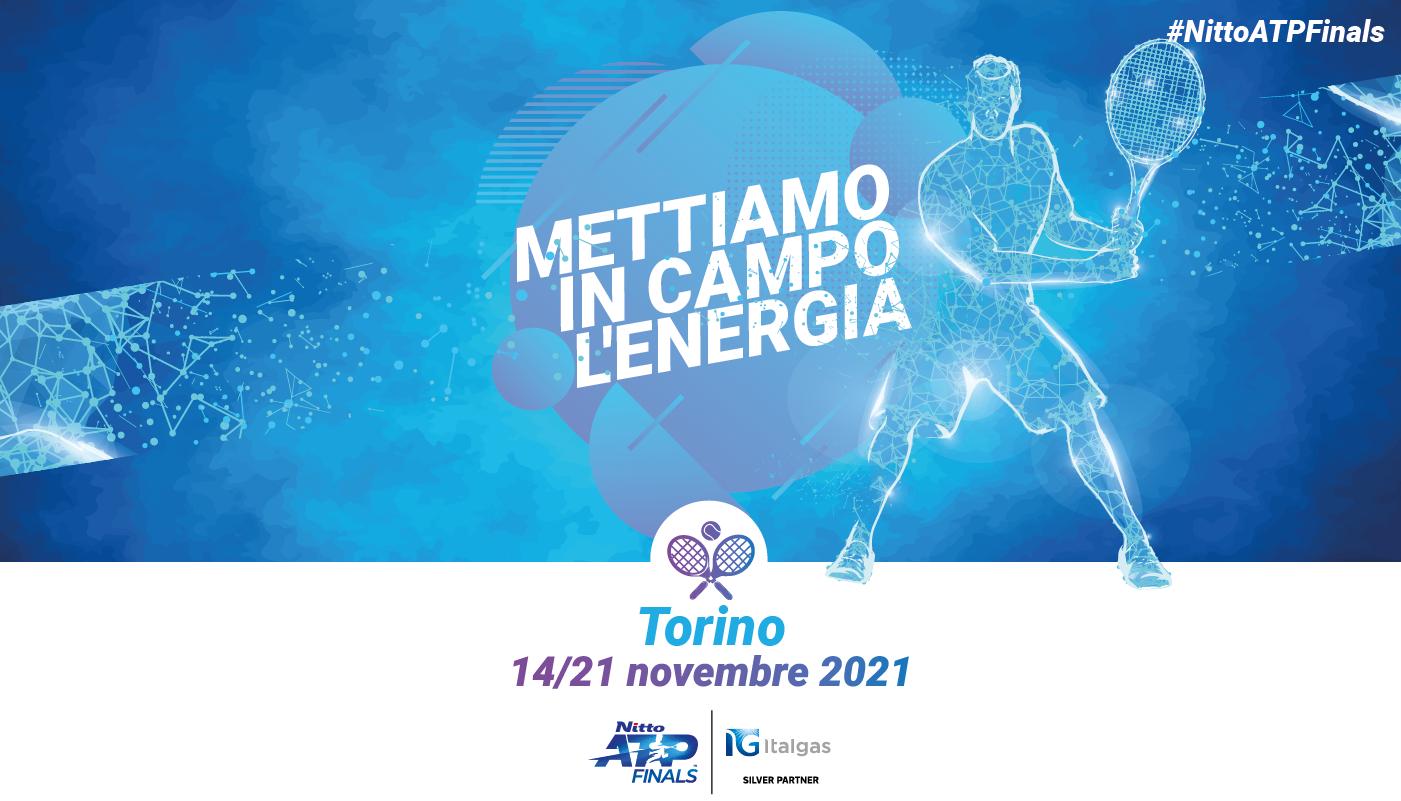 Italgas è Silver Partner delle Nitto ATP Finals 2021 di Torino