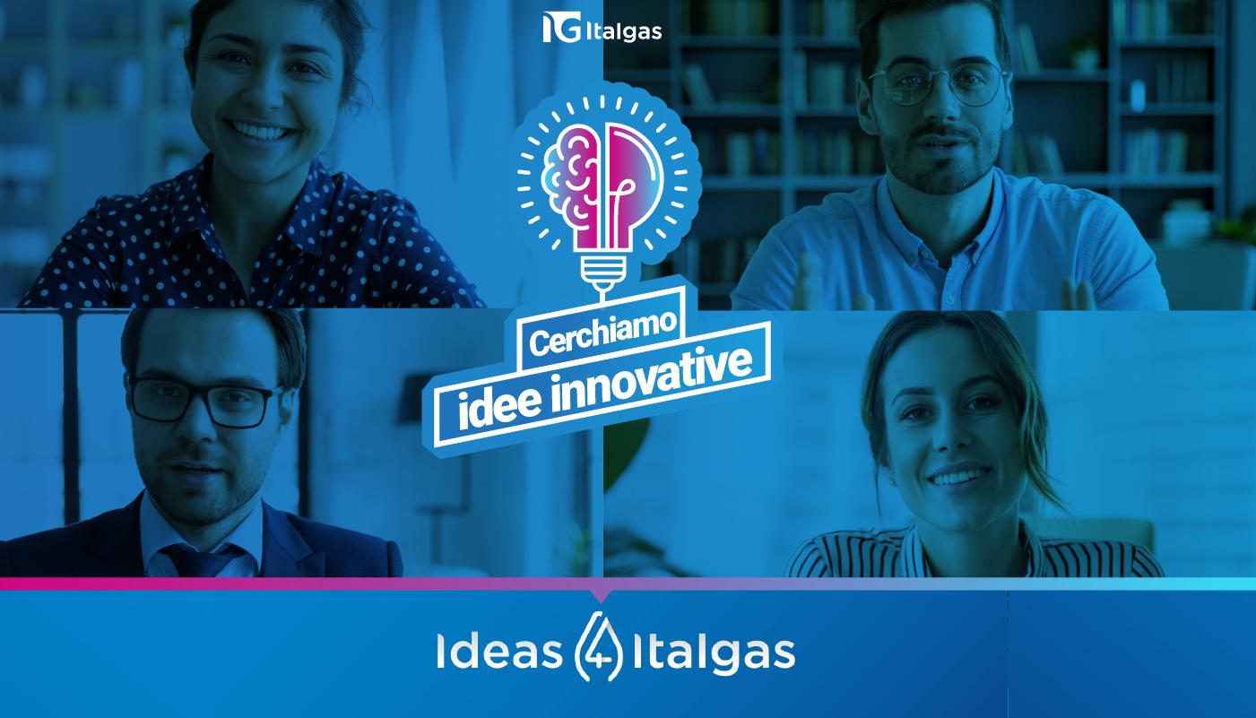 """""""Ideas 4 Italgas"""": insieme all'incubatore di startup del Politecnico di Torino per la trasformazione digitale"""