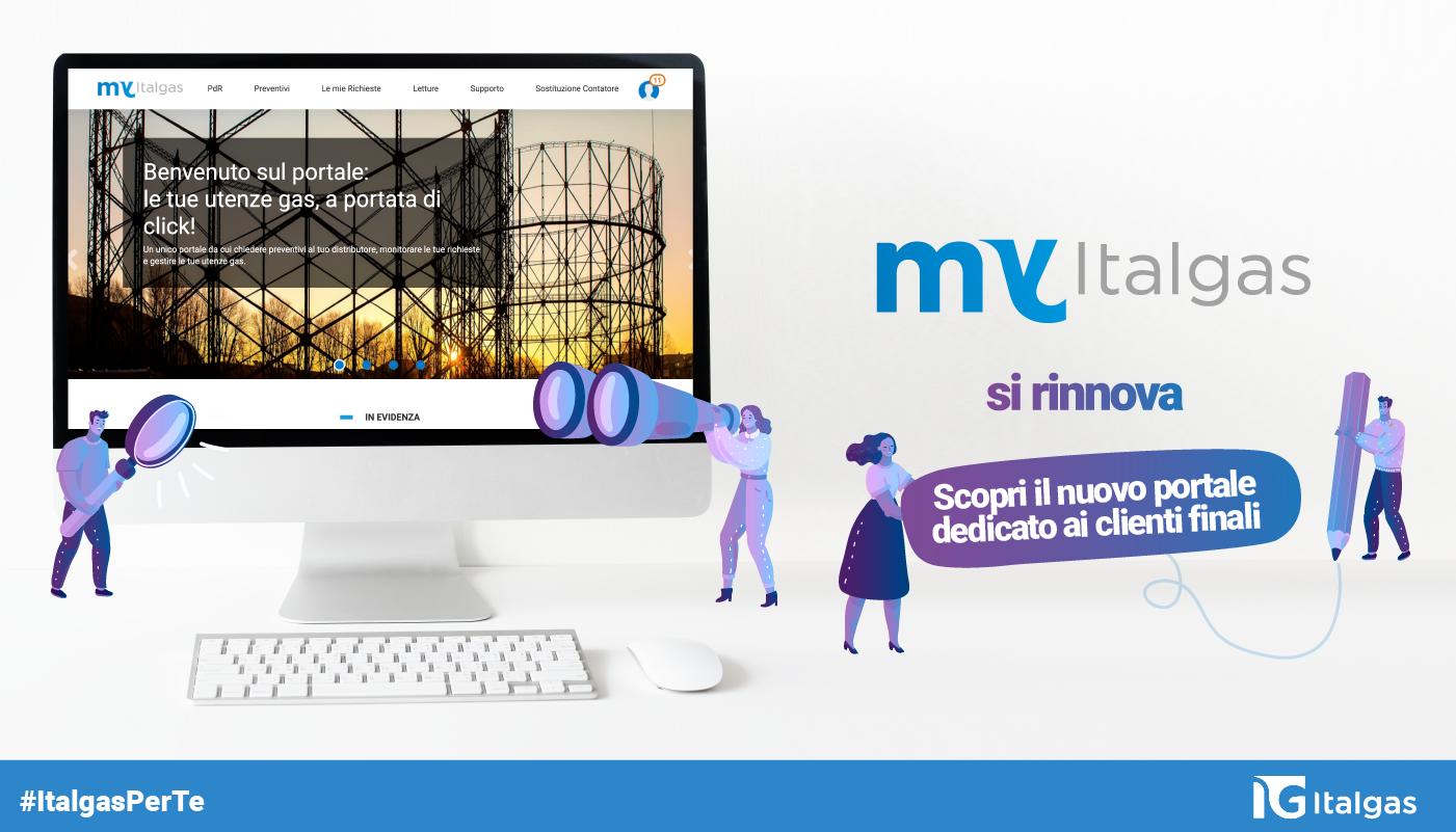 Semplice, veloce e digitale: il portale MyItalgas si rinnova