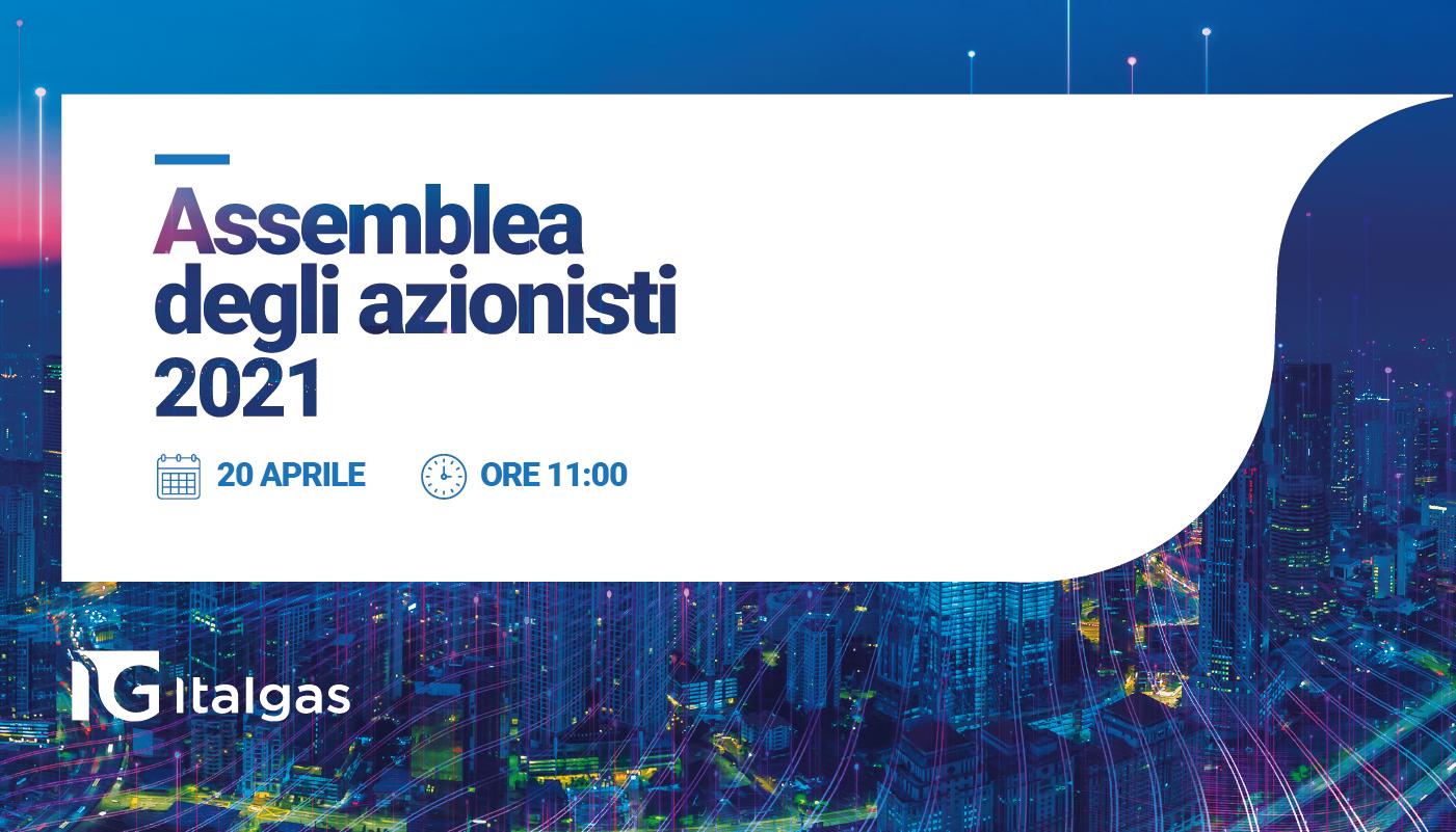 Shareholders' Meeting: 20 April 2021