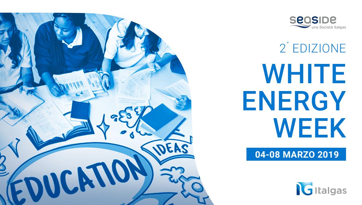 """Presentata la II edizione della """"White Energy Week"""""""
