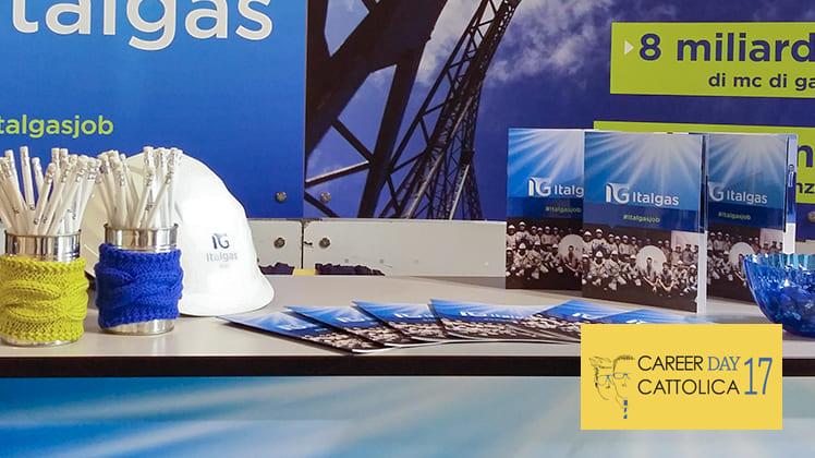 Italgas takes part to the 2017 Career Days