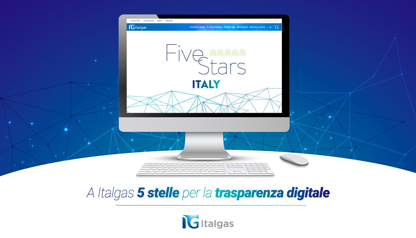 """Webranking 2020-2021: Italgas tra le prime 8 aziende italiane a """"5 stelle"""""""
