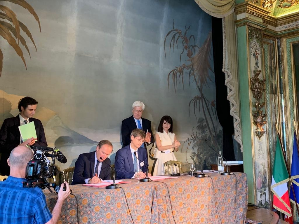 Italgas and GRDF strengthen their partnership collaboration in the gas distribution sector