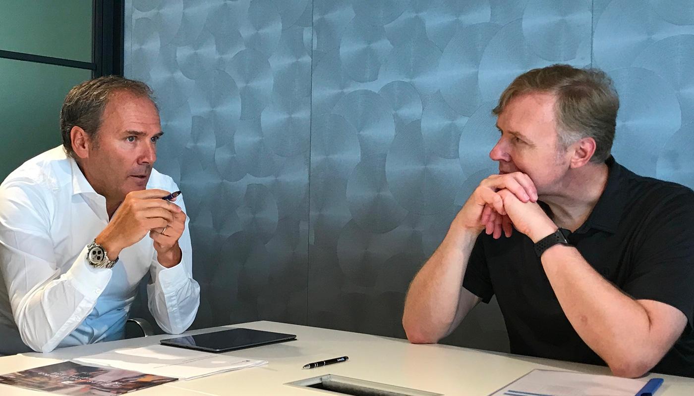 Italgas: Paolo Gallo meets LinkedIn co-founder Allen Blue