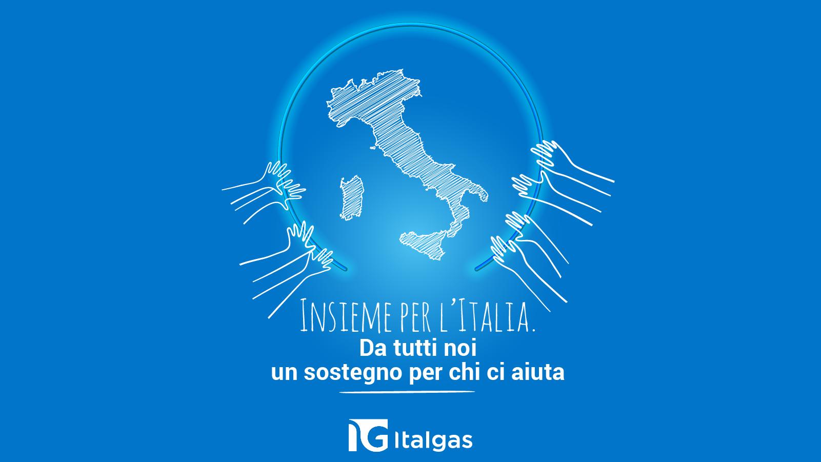I dipendenti del Gruppo Italgas donano l'equivalente di circa 7.000 ore di lavoro alla Protezione Civile. La Società ne raddoppia l'importo