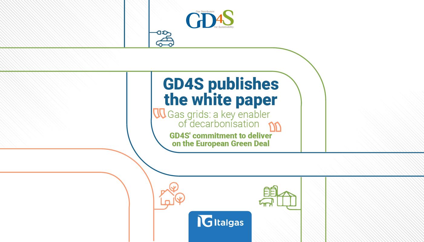 GD4S pubblica un White Paper per promuovere il ruolo delle reti del gas come principale volano della transizione energetica dell'Unione Europea