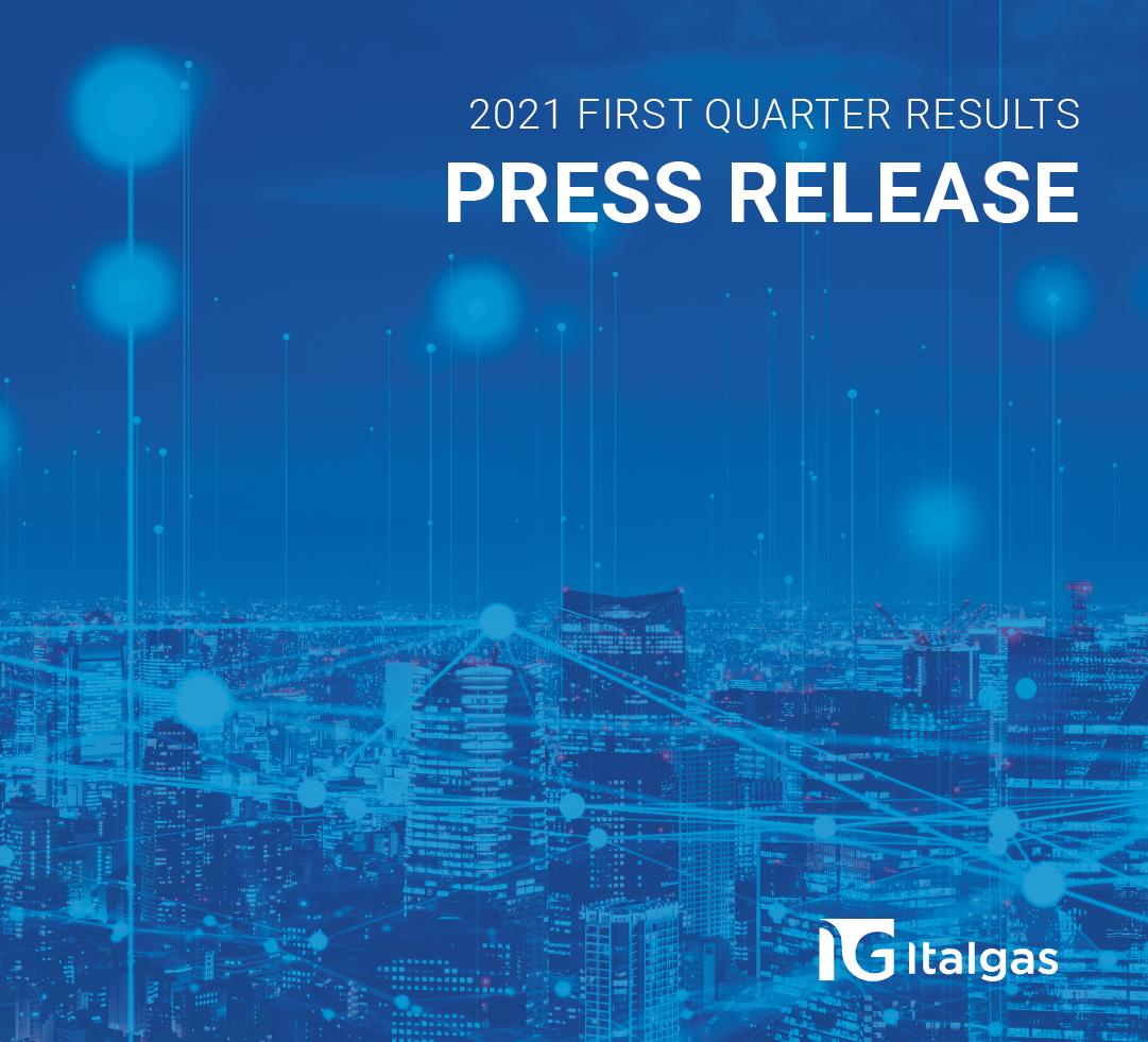 Italgas: approvati i risultati consolidati al 31 Marzo 2021