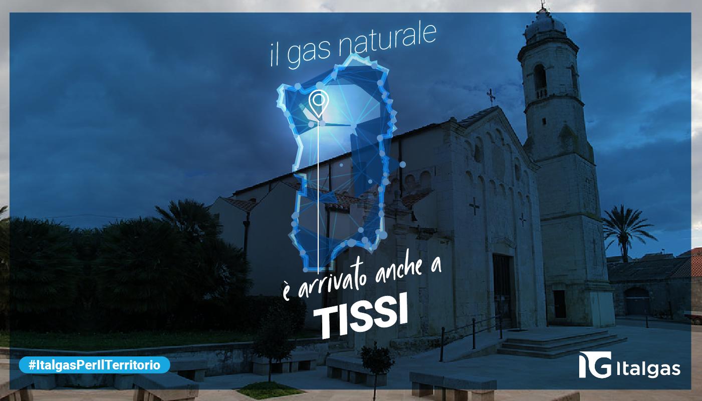 Il gas naturale arriva anche a Tissi: Medea converte la rete cittadina da Gpl a metano che sarà alimentata da un deposito criogenico di Gnl