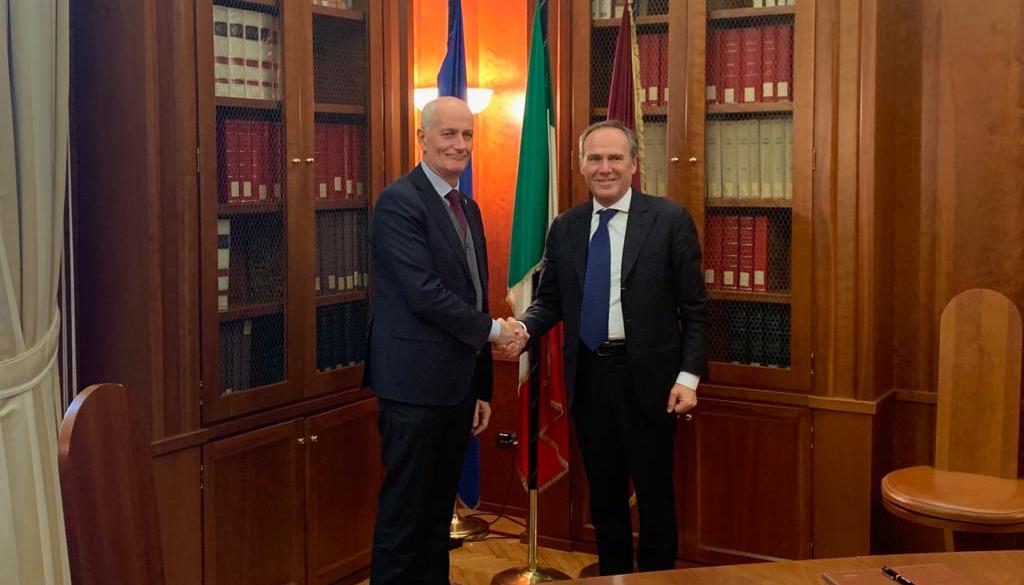 Polizia di Stato e Italgas  siglano l'accordo sulla prevenzione  e il contrasto dei crimini informatici
